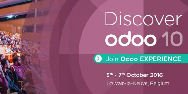 Odoo Experience 2016